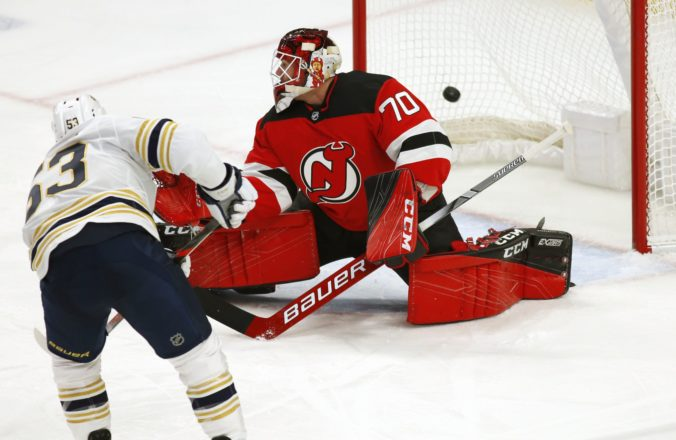 Jeff Skinner, Louis Domingue, Buffalo Sabres, New Jersey Devils, NHL