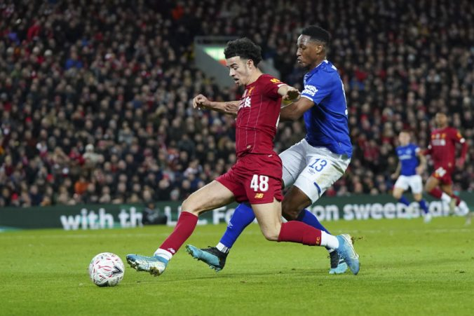 Curtis Jones, Yerry Mina, FC Liverpool, FC Everton, FA Cup