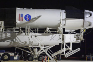 SpaceX Demo 2 Rollout