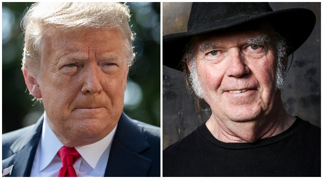 Donald Trump, Neil Young