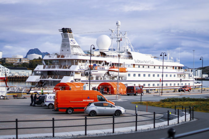 Virus Outbreak Norway Cruise Ship