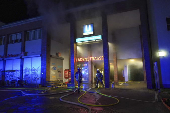 Germany Subway Station Fire