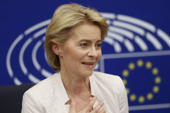 Von der Leyen predstavila v utorok v Bruseli novú komisiu, je v nej vyrovnaný pomer zastúpenia oboch pohlaví