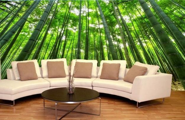 Photo wallpaper murals wall decorating ideas 9.jpg