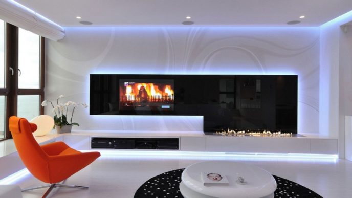 Modern living room lighting led impressive modern living room led lights for living room.jpg